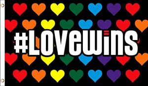 #Lovewins Rainbow Flag (3' X 5')
