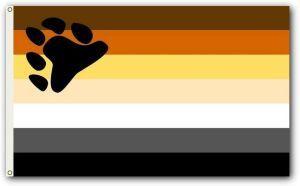 Bear Pride Flag (3' X 5')
