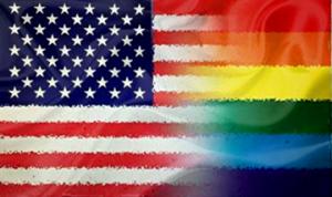 Bleeding Pride American Flag (3' X 5')