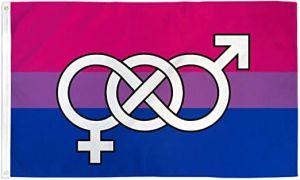 Bisexual Symbol Flag (3' X 5')