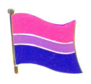 Bisexual Flag Enamel Lapel Pin