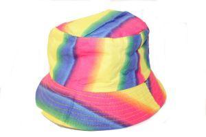 Vibrant Rainbow Bucket Hat