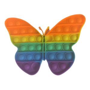 Rainbow Butterfly Bubble Pop Fidget