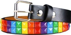 Kids Rainbow Studded Belt