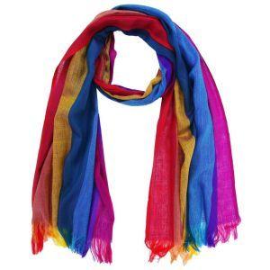 Traditional Rainbow Scarf