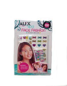 Rainbow Face Fashion Sticker Set