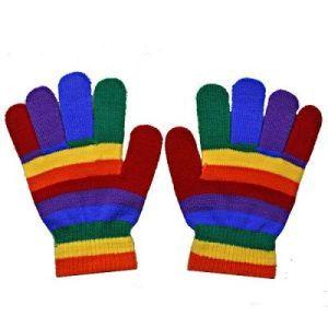 Rainbow Winter Gloves