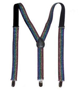 Glitter Rainbow Kid's Suspenders