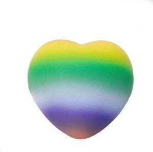 Rainbow Heart Shaped Stressball