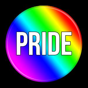 "Rainbow ""Pride"" Button"