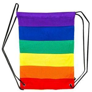 Rainbow Pride Backpack Cinch Sack