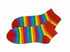 Rainbow Ankle Socks