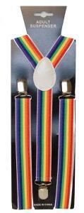 Traditional Rainbow Suspenders