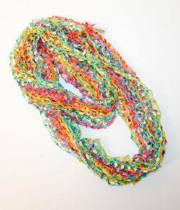Rainbow Thread Scarf