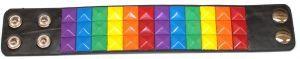 Rainbow Studded Bracelet