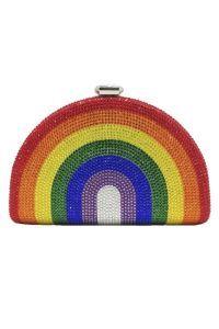 Gorgeous Rhinestone Rainbow Evening Bag
