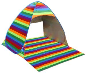 Portable Outdoor Rainbow Beach Tent