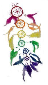 Small Rainbow Dreamcatcher