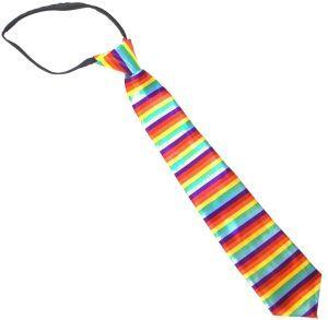 Rainbow Zipper Bowtie