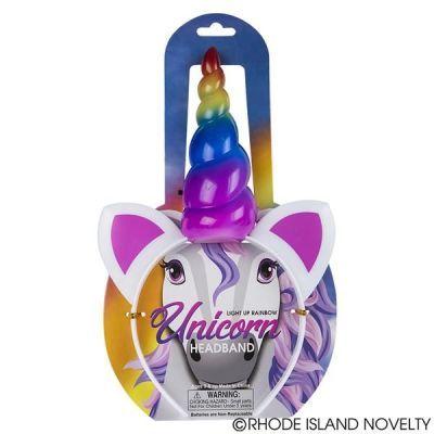 Rainbow Light Up Unicorn Headband