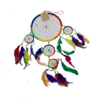 Medium Rainbow Dreamcatcher