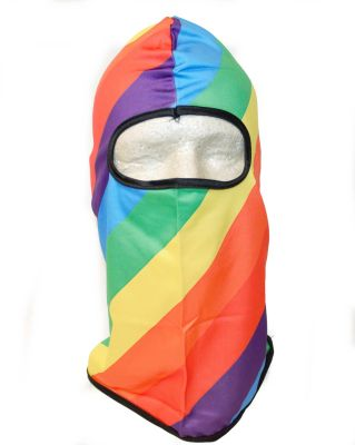 Rainbow Full Face Covering