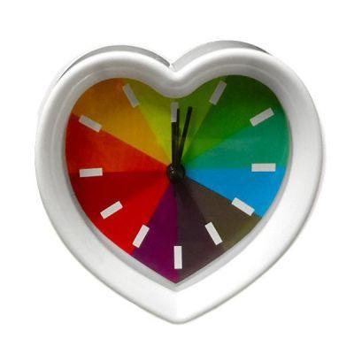 Heart Rainbow Clock