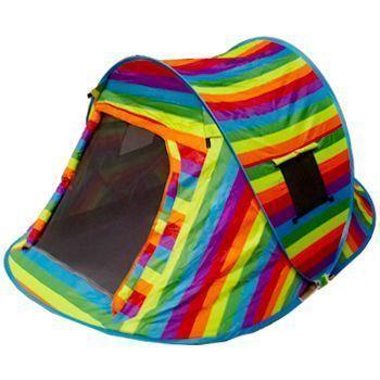 Rainbow Pop-Up Camping Tent