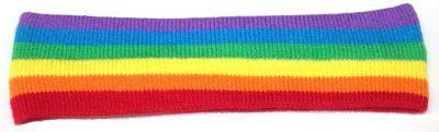 Rainbow Pride Head Sweatband